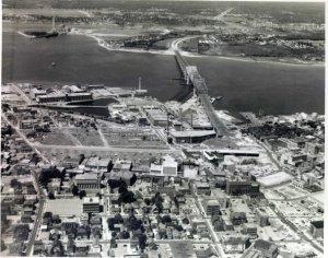 Ariel view 1960's