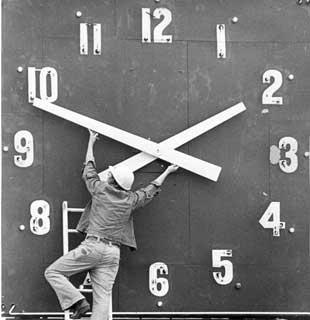Value of time...hmmmm