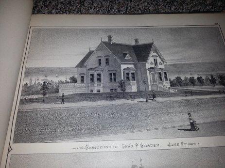 Charles F Borden house