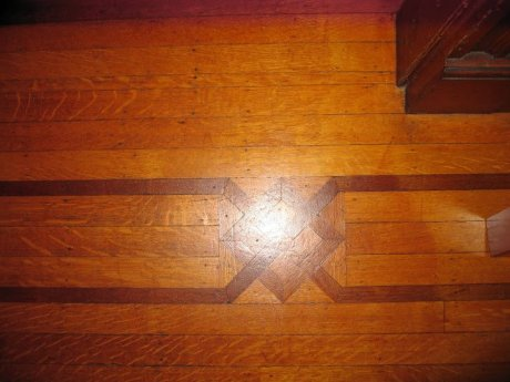 DR floor inlay