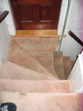 Servantw back stairs