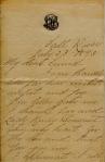 Translation of Newly Found Letter Written by LizzieBorden